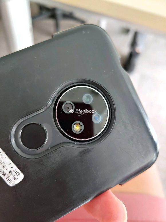 Nokia Daredevil 5a Nokia Daredevil real life photos surfaces; shows water-drop notch, triple rear-cameras 1