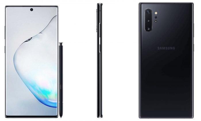 Samsung Galaxy Note10 Plus leaked press renders