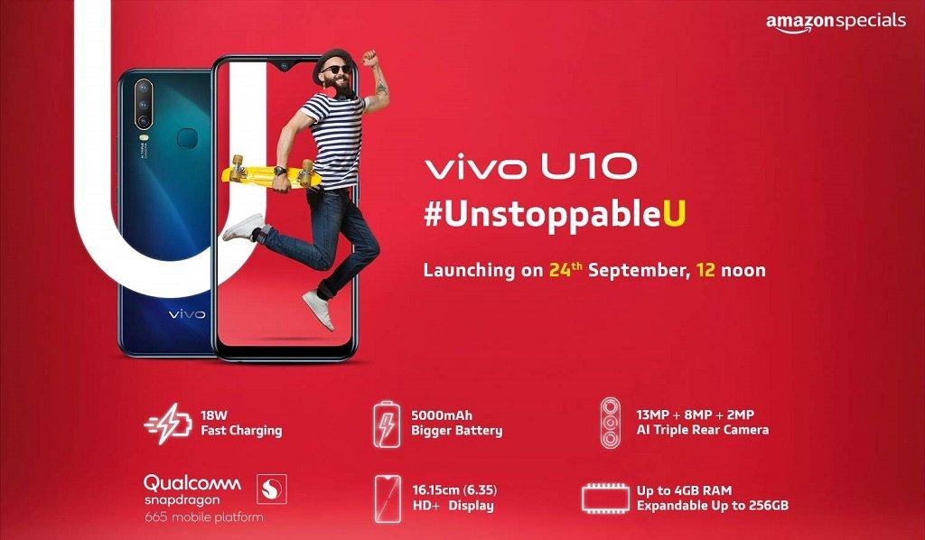 Vivo U10 Specs Vivo U10 specifications including Triple camera details confirmed 2 News   Phones