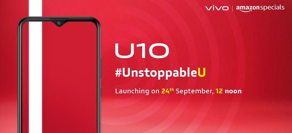 Vivo U10 launch india - AndroidPure