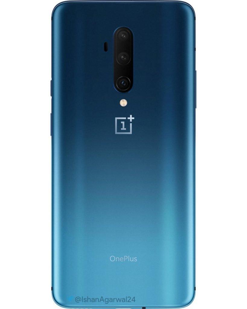 OnePlus 7T Pro leaked Haze Blue