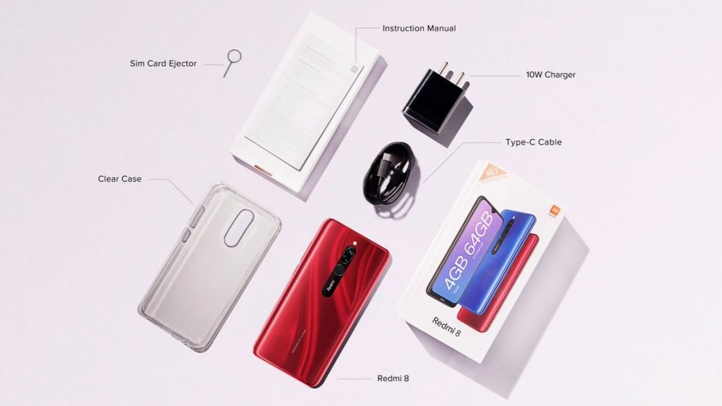 Redmi 8 box contents Redmi 8 launched in India; It's the Redmi 8A with dual cameras and more memory 2 News | Phones