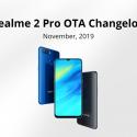 Realme 2 Pro November update