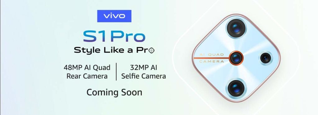 Vivo S1 Pro India Launch Date