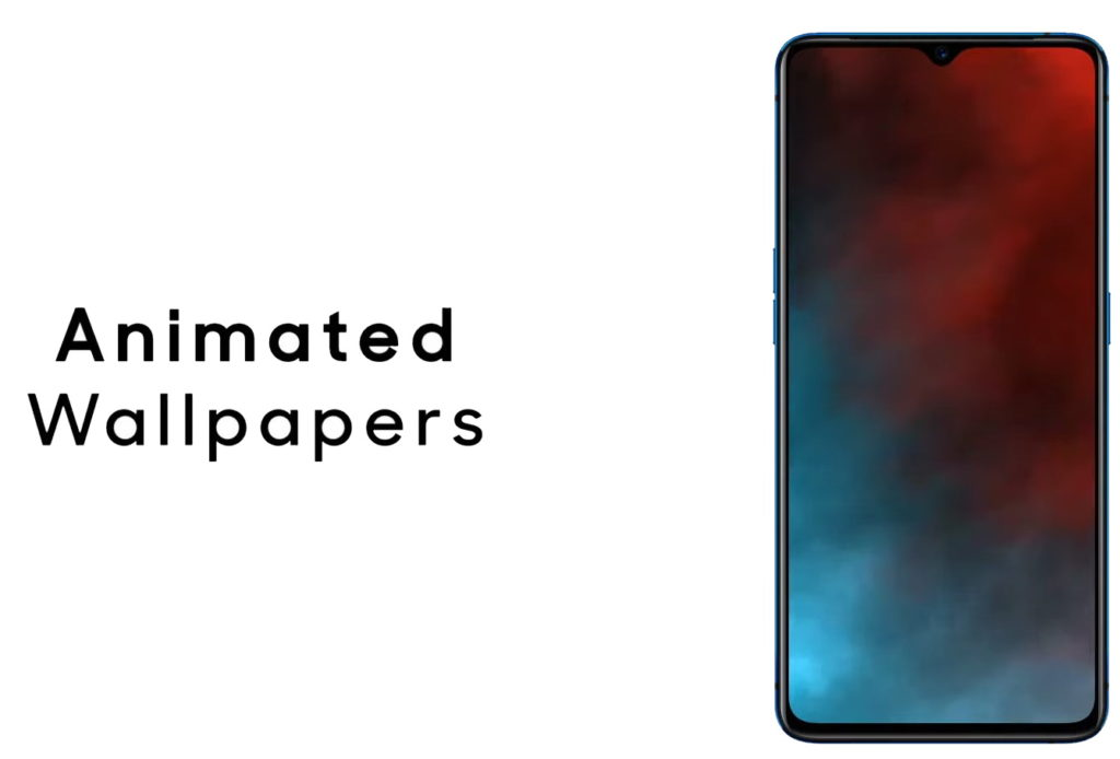 Realme Ui features Animated Wallpapers