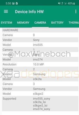 Samsung Galaxy S20+ Camera Specs Leaked