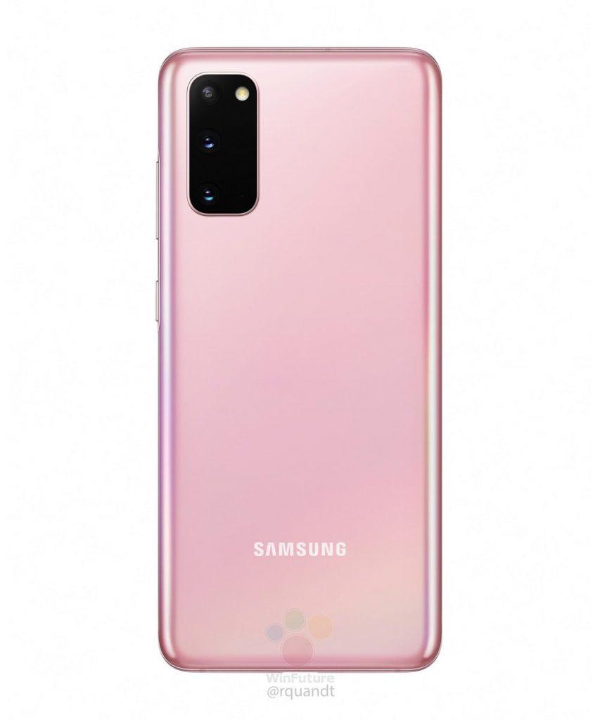 Samsung Galaxy S20 series Cosmic Pink 2