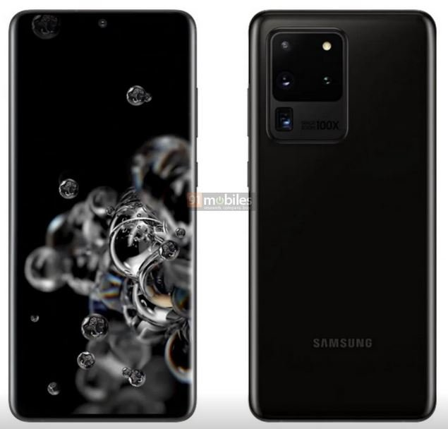 Samsung Galaxy S20 series - S20 Ultra Cosmic Black