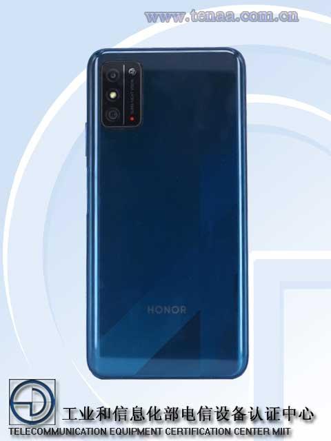 Honor X10 Max back panel