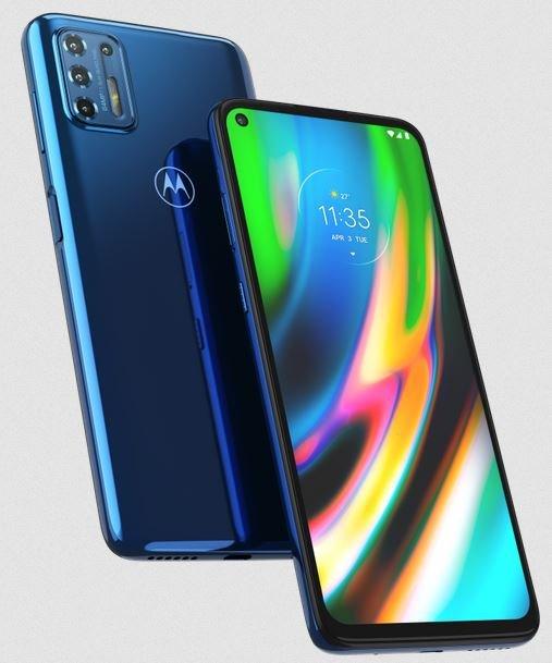 Motorola Moto G9 Plus Indigo Blue Color