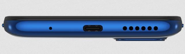 Motorola Moto G9 Plus ports